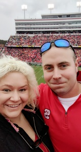 Anthony attended NC State Wolfpack vs. East Carolina - NCAA Football on Dec 1st 2018 via VetTix