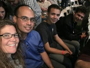 Jason James attended Classic Albums Live Performs the Eagles Hotel California on Oct 27th 2018 via VetTix
