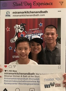 Dondy attended Stunt Dog Experience - Evening Show on Nov 3rd 2018 via VetTix