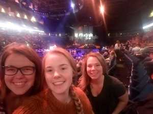Marty attended Justin Timberlake - the Man of the Woods Tour - Pop on Oct 15th 2018 via VetTix