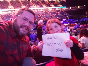 Jeremy attended Justin Timberlake - the Man of the Woods Tour - Pop on Oct 15th 2018 via VetTix