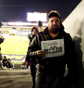 Brian attended West Virginia Mountaineers vs. Baylor Bears - NCAA Football on Oct 25th 2018 via VetTix