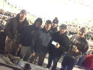 TODD attended West Virginia Mountaineers vs. Baylor Bears - NCAA Football on Oct 25th 2018 via VetTix