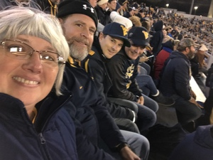 Joel attended West Virginia Mountaineers vs. Baylor Bears - NCAA Football on Oct 25th 2018 via VetTix