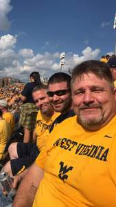 Damien attended West Virginia Mountaineers vs. Baylor Bears - NCAA Football on Oct 25th 2018 via VetTix