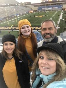 Keith attended West Virginia Mountaineers vs. Baylor Bears - NCAA Football on Oct 25th 2018 via VetTix
