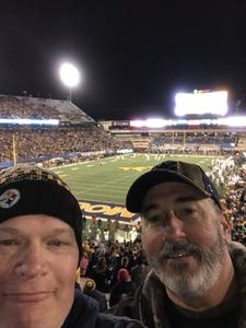 Charles attended West Virginia Mountaineers vs. Baylor Bears - NCAA Football on Oct 25th 2018 via VetTix