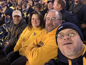 Kenneth attended West Virginia Mountaineers vs. Baylor Bears - NCAA Football on Oct 25th 2018 via VetTix