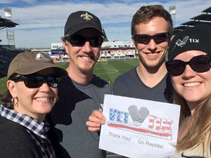 David attended Colorado Rapids vs. FC Dallas - MLS on Oct 28th 2018 via VetTix