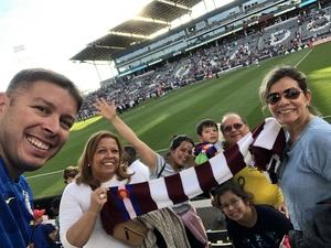 J. Aguiar attended Colorado Rapids vs. FC Dallas - MLS on Oct 28th 2018 via VetTix