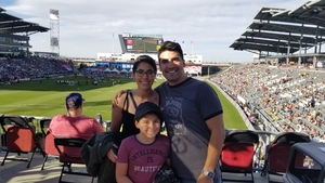 Joshua attended Colorado Rapids vs. FC Dallas - MLS on Oct 28th 2018 via VetTix