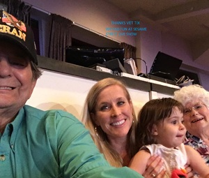 Karl attended Sesame Street Live! Make Your Magic on Oct 21st 2018 via VetTix
