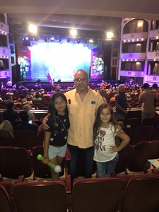 Oscar attended Sesame Street Live! Make Your Magic on Oct 21st 2018 via VetTix