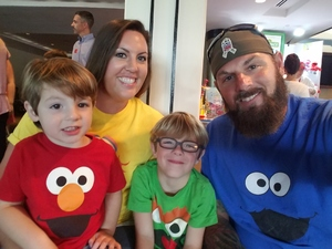 Thomas attended Sesame Street Live! Make Your Magic on Oct 21st 2018 via VetTix