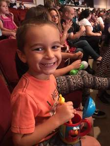 Kimberly attended Sesame Street Live! Make Your Magic on Oct 21st 2018 via VetTix