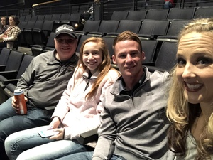 Kaitlin attended KSCS Country Fest with Cole Swindell on Oct 18th 2018 via VetTix