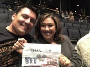 Michelle attended KSCS Country Fest with Cole Swindell on Oct 18th 2018 via VetTix