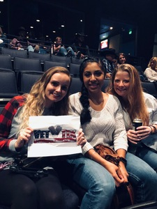 Jeannine attended KSCS Country Fest with Cole Swindell on Oct 18th 2018 via VetTix