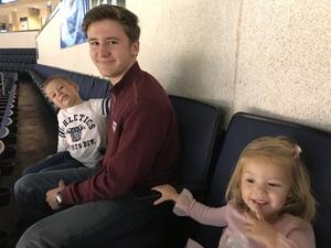 Leslie attended Allen Americans vs. Wichita Thunder - Home Opener - ECHL on Oct 20th 2018 via VetTix