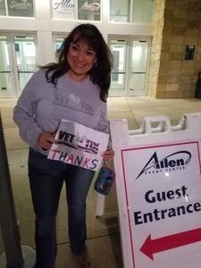 Leticia attended Allen Americans vs. Wichita Thunder - Home Opener - ECHL on Oct 20th 2018 via VetTix