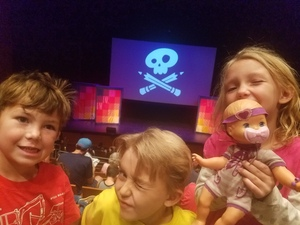 Isaac attended Story Pirates Greatest Hits - Scottsdale Center for the Performing Arts on Nov 3rd 2018 via VetTix