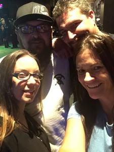 Tina attended BLK Live - Puddle of Mudd on Oct 31st 2018 via VetTix