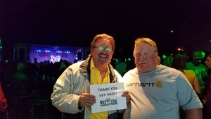 Michael attended BLK Live - Puddle of Mudd on Oct 31st 2018 via VetTix