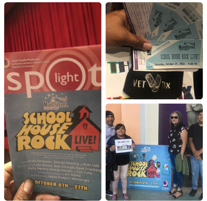 raul attended School House Rock Live Events on Oct 27th 2018 via VetTix