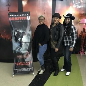 Koasina attended Keith Urban: Graffiti U World Tour - Country on Nov 1st 2018 via VetTix