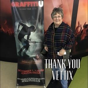Virginia attended Keith Urban: Graffiti U World Tour - Country on Nov 1st 2018 via VetTix