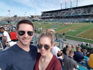 Chris attended Tulane University vs. Navy - NCAA Football on Nov 24th 2018 via VetTix