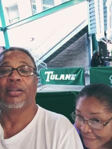 Alan attended Tulane University vs. Navy - NCAA Football on Nov 24th 2018 via VetTix