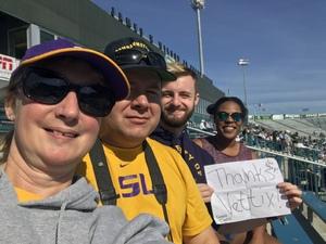 Jimmie attended Tulane University vs. Navy - NCAA Football on Nov 24th 2018 via VetTix