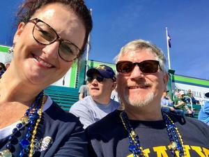 Brett attended Tulane University vs. Navy - NCAA Football on Nov 24th 2018 via VetTix