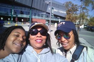 Leslye attended Tulane University vs. Navy - NCAA Football on Nov 24th 2018 via VetTix
