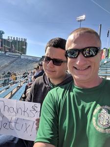 Michael attended Tulane University vs. Navy - NCAA Football on Nov 24th 2018 via VetTix