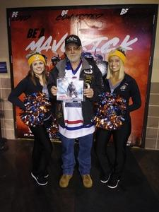 Michael W. attended Kansas City Mavericks vs. Allen Americans - ECHL on Nov 6th 2018 via VetTix