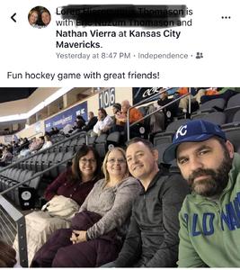 Nathan attended Kansas City Mavericks vs. Allen Americans - ECHL on Nov 6th 2018 via VetTix