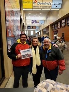Kirk attended Kansas City Mavericks vs. Tulsa Oilers - ECHL on Nov 30th 2018 via VetTix