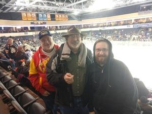 John attended Kansas City Mavericks vs. Tulsa Oilers - ECHL on Nov 30th 2018 via VetTix