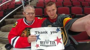 Bruce attended Arizona Coyotes vs. Ottawa Senators - NHL on Oct 30th 2018 via VetTix