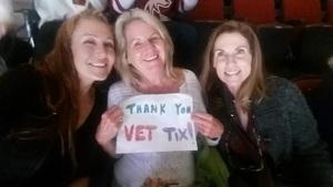Kimberly attended Arizona Coyotes vs. Ottawa Senators - NHL on Oct 30th 2018 via VetTix