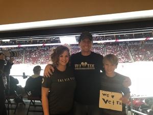 Nick attended Arizona Coyotes vs. Ottawa Senators - NHL on Oct 30th 2018 via VetTix
