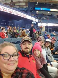 Luke attended Chicago Wolves vs. Rockford Icehogs - AHL - Military Appreciation Weekend - Special Instructions * See Notes on Nov 10th 2018 via VetTix