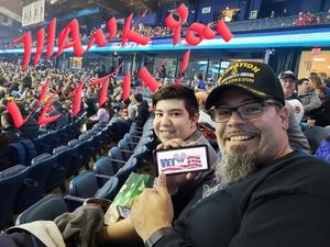 Leonardo attended Chicago Wolves vs. Rockford Icehogs - AHL - Military Appreciation Weekend - Special Instructions * See Notes on Nov 10th 2018 via VetTix