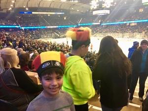 Karol attended Chicago Wolves vs. Rockford Icehogs - AHL - Military Appreciation Weekend - Special Instructions * See Notes on Nov 10th 2018 via VetTix