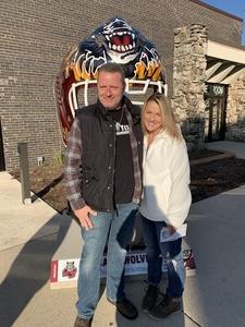 David attended Chicago Wolves vs. Manitoba Moose - AHL - Special Instructions * See Notes on Nov 18th 2018 via VetTix
