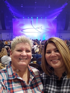 Kimberly attended Jake Owen - Life's Whatcha Make It Tour on Oct 26th 2018 via VetTix