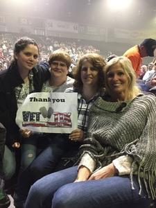 Colleen attended Jake Owen - Life's Whatcha Make It Tour on Oct 26th 2018 via VetTix