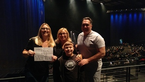 Eric E attended Rock of Ages - Matinee on Nov 24th 2018 via VetTix